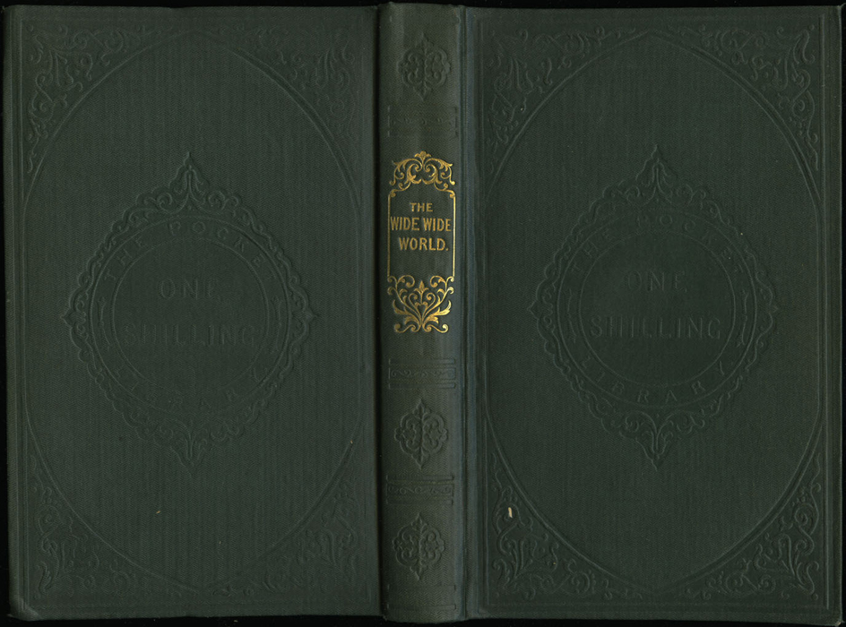 "Full Cover of the 1853 Eli Charles Eginton & Co. ""Pocket Library"" Reprint"