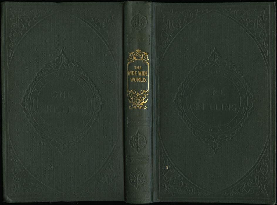 "Full Cover of the 1853 Eli Charles Eginton & Co. ""Pocket Library"" Reprint"