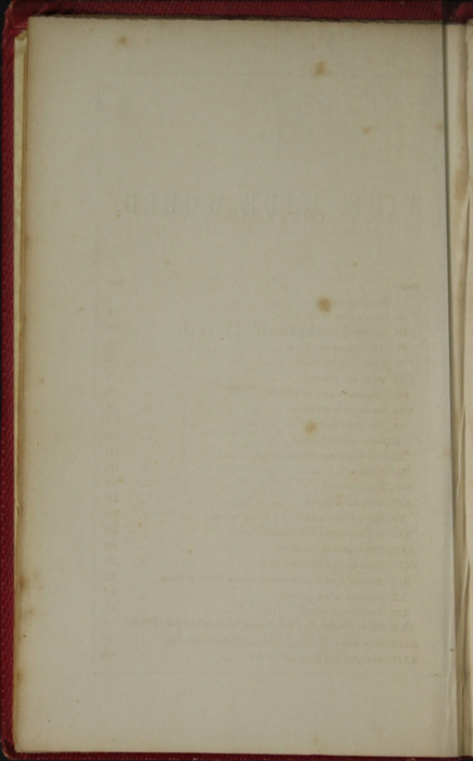 Verso of Title Page to the 1852 T. Nelson & Sons Reprint, Version 1