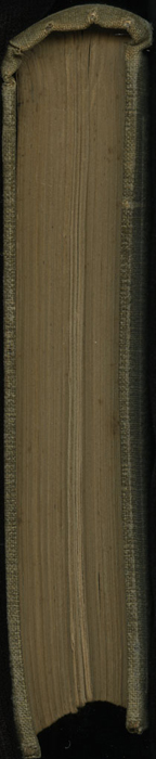 Head of Volume 1 of the 1851 George P. Putnam First Edition<br /><br />