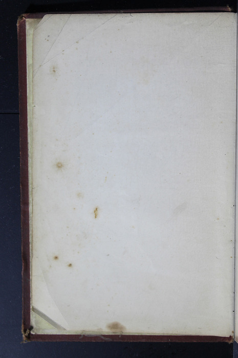 """Verso of Front Flyleaf of the 1886 James Nisbet & Co. """"New Edition"""" Reprint"""