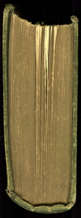 """Tail of [1885] Ward, Lock & Co. """"Home Treasure Library Complete ed."""" Reprint, Version 1"""
