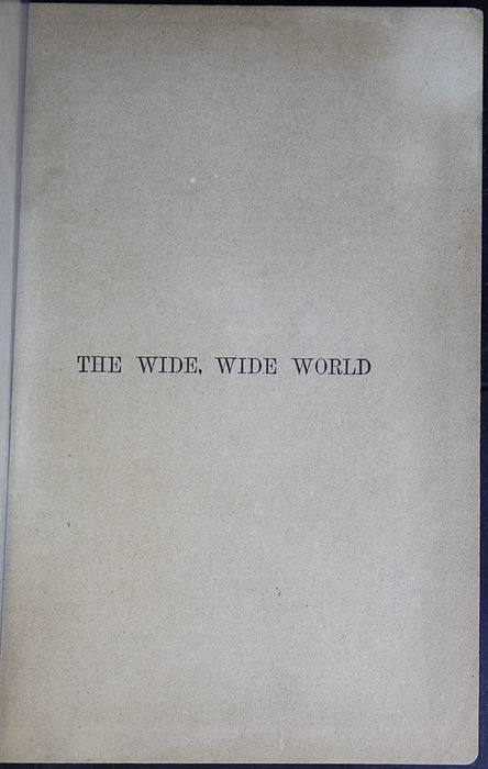 Half-Title Page to the [1883] John F Shaw & Co. Reprint