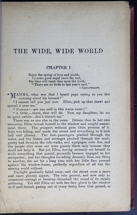 First Page of Text in the [1908] Seeley & Co. Ltd. Reprint