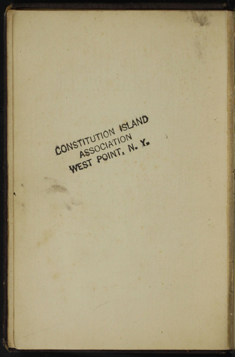 """Verso of Decorative Title Page to the [1867] Milner & Sowerby """"The Wide, Wide World Library"""" Reprint"""