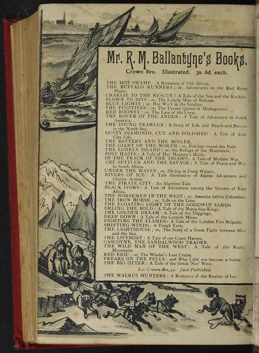 Verso of Back Flyleaf of [1893] James Nisbet & Co. Reprint, Version 2