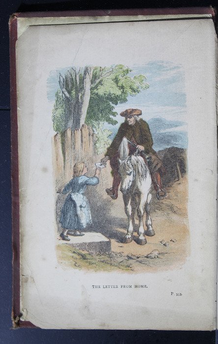 """Frontispiece to the 1886 James Nisbet & Co. """"New Edition"""" Reprint Depicting the Letter from Home"""