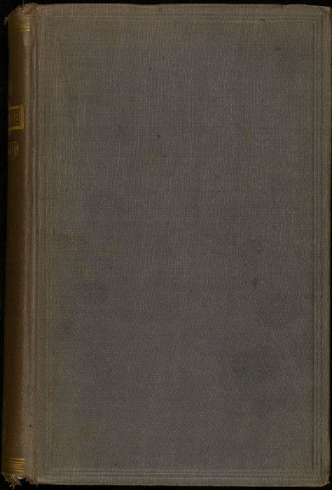 """Front Cover of the 1871 J.B. Lippincott & Co. """"New Edition"""" Reprint"""