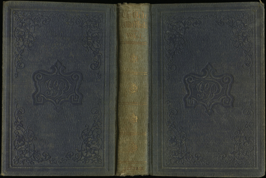 Full Cover of Volume 1 of the 1851 George P. Putnam First Edition, Version 3