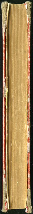 Fore Edge of Volume 2 of the [1902] Home Book Co. Reprint, Version 1