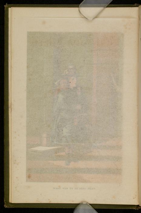 "Recto of Tissue Paper of the [1885] Ward, Lock & Co. ""Home Treasure Library Complete ed."" Reprint, Version 1"