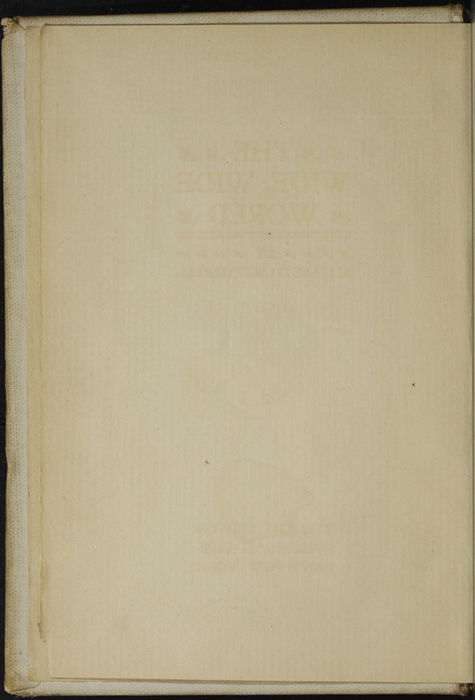Verso of Front Flyleaf of Volume 2 of the [1898] F. M. Lupton Publishing Co. Reprint