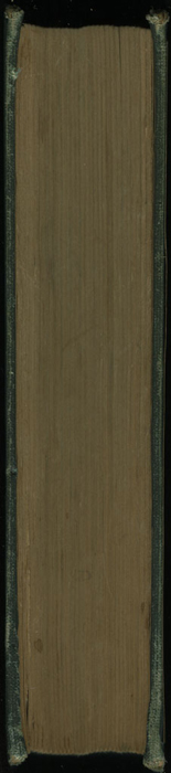 "Fore Edge of the [1907] Hurst & Co. ""Knickerbocker Classics"" Reprint"