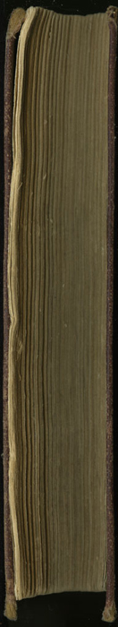 Fore Edge of the [1878] Milner & Co. Reprint, Version 1