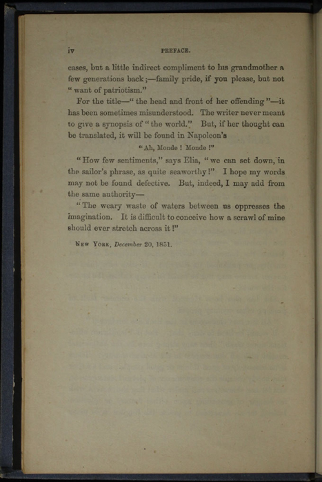 "Page iv of the Preface to 1887 James Nisbet & Co. ""New ed. Golden Ladder Series"" Reprint"