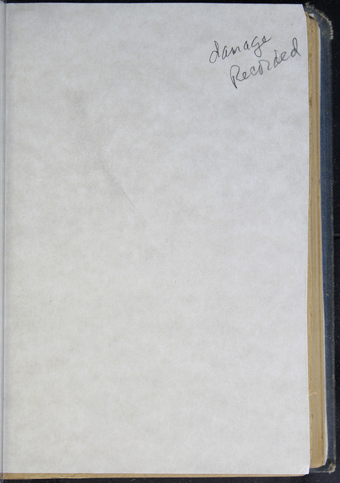 Verso of Front Flyleaf of the [1894] D. H. & Co. Reprint
