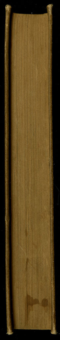 Fore Edge of Volume 2 of the [1903] The Mershon Co. Reprint