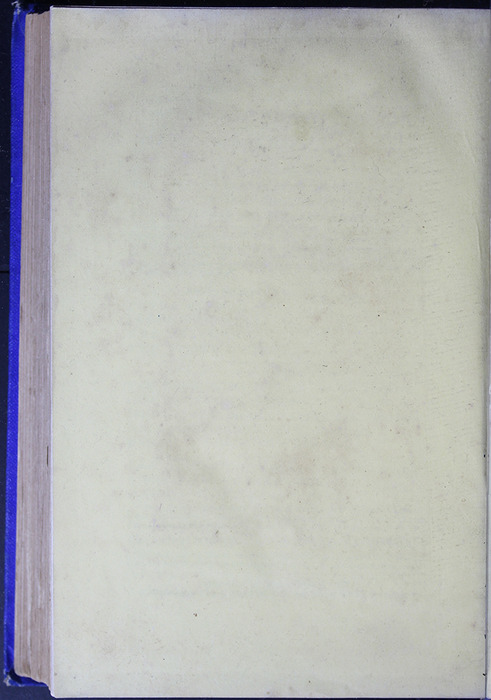 Verso of Back Flyleaf of the [1887] W. Nicholson & Sons Reprint, Version 2