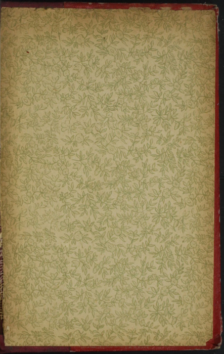Back Pastedown of Volume 1 of the [1902] Home Book Co. Reprint, Version 1