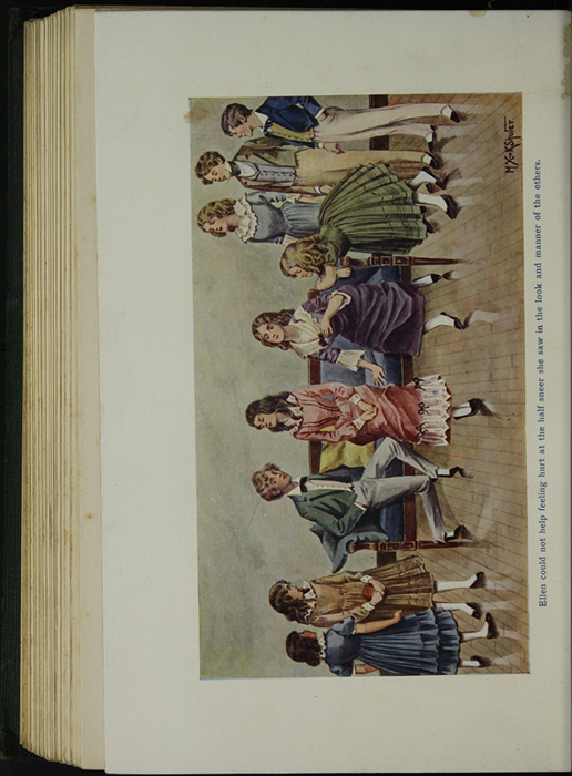 Full-Color Plate on Page 246b of the [1906] Charles H. Kelly Reprint, Version 1 Depicting Children Playing at the Marshmans