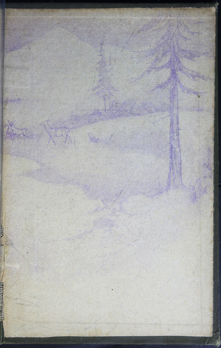 Back Pastedown of the [1883] John F Shaw & Co. Reprint