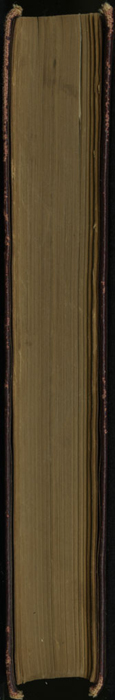 "Fore Edge of the [1894] A. L. Burt Co. ""Burt's Library of the World's Best Books"" Reprint"