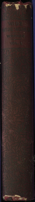 Spine of Volume 1 of the [1902] Home Book Co. Reprint, Version 1