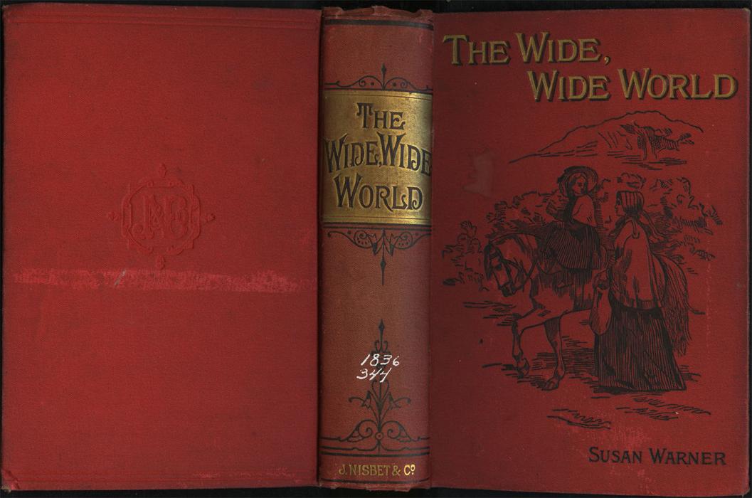 Full Cover of the [1896] James Nisbet & Co. Reprint Depicting Ellen Riding Sharp