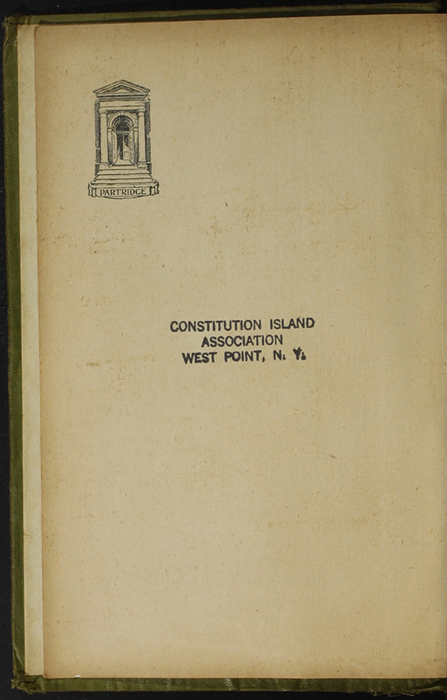 Verso of Title Page with Library Marks to the [1910] S. W. Partridge & Co., Ltd. Reprint