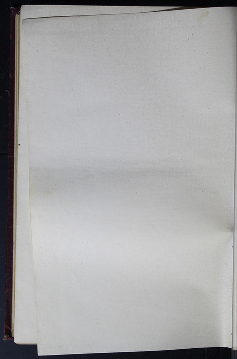 Verso of Second Back Flyleaf of the [1899] Geo. M. Hill Co. Reprint