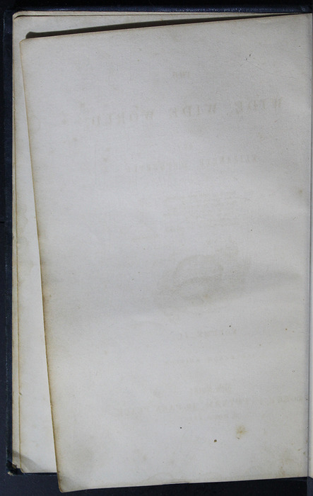 Verso of Front Flyleaf of Volume 2 of the 1852 George P. Putnam 16th Edition, Version 2