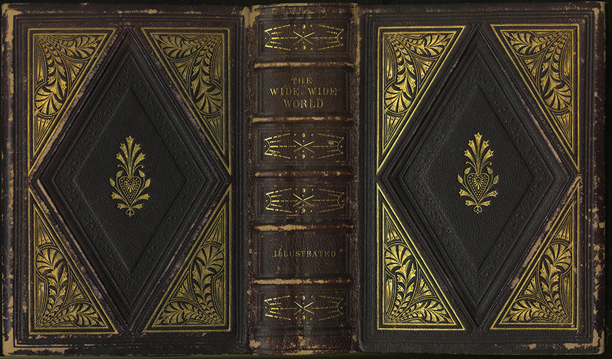 Full Cover of the 1853 G.P. Putnam & Co. Illustrated Edition Reprint