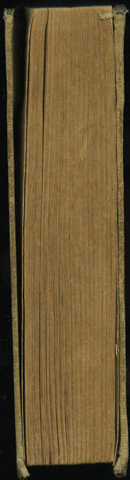 Fore Edge of the [1902] H. M. Caldwell Co. Reprint