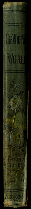 """Spine of the [1892] Ward, Lock & Co. """"Pansy Series"""" Reprint"""