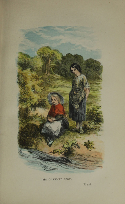 "Illustration on Page 118a of the 1887 James Nisbet & Co. ""Golden Ladder Series, New Edition"" Reprint Depicting Ellen Finding Nancy at the Brook"
