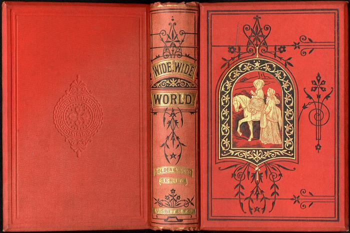 "Full Cover of the 1879 James Nisbet & Co. ""Golden Ladder Series"" Reprint"