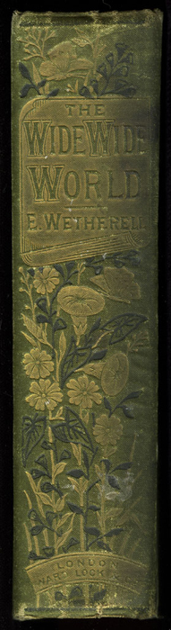 """Spine of the [1885] Ward, Lock & Co. """"Home Treasure Library, Complete Edition"""" Reprint"""