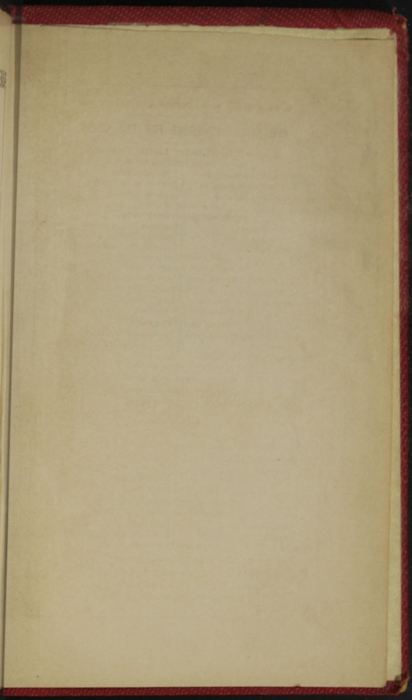 Recto of the Back Flyleaf of the 1852 T. Nelson & Sons Reprint, Version 1