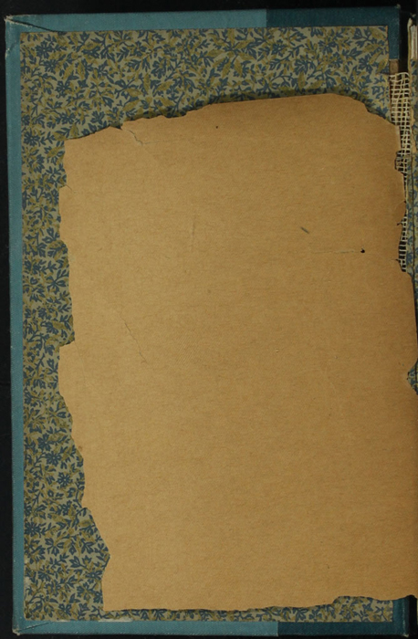 Verso of Front Endpaper of Volume 1 of the [1902] Home Book Co. Reprint, Version 3
