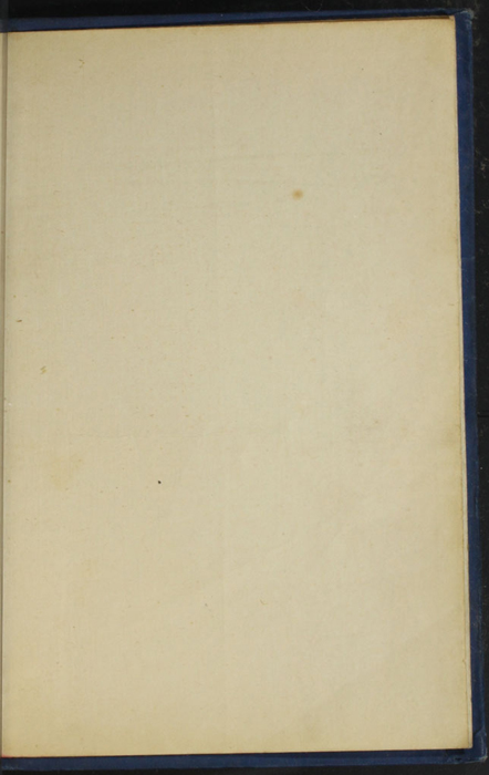 Recto of Back Flyleaf of the [1932] Epworth Press Reprint