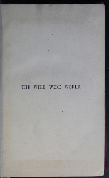 Half-Title Page to the 1889 G. Bell Reprint
