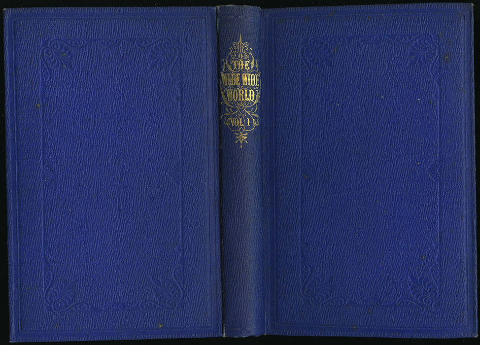 "Full Cover of Volume 1 of the 1853 James Nisbet, Hamilton, Adams & Co. ""New Edition"" Reprint"