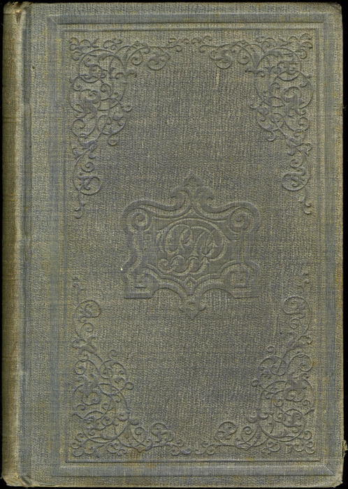 Front Cover of Volume 2 of the 1851 George P. Putnam First Edition<br /><br /> <br /><br />