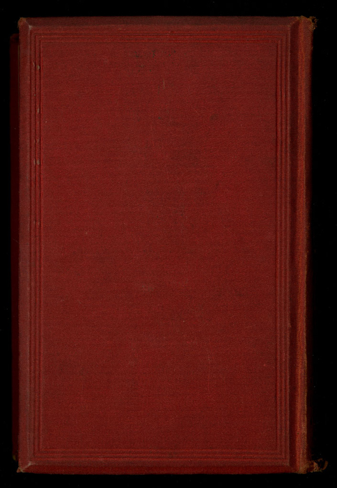 """Back Cover of the [1877] Ward, Lock & Co. """"Good Tone Library, Complete Edition"""" Reprint"""