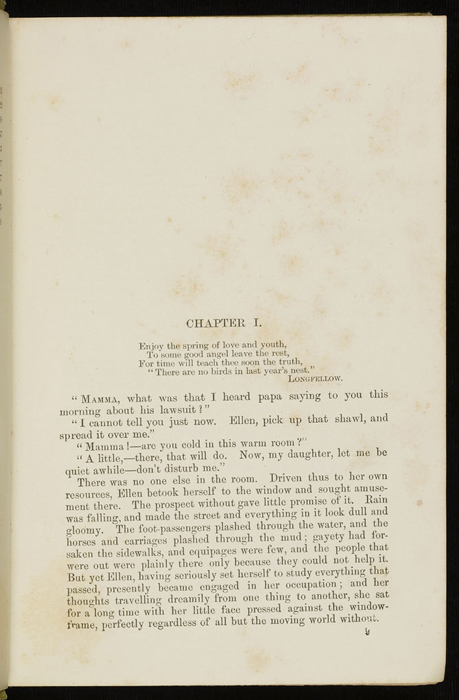 First Page of Text in the 1896 Hodder and Stoughton Reprint