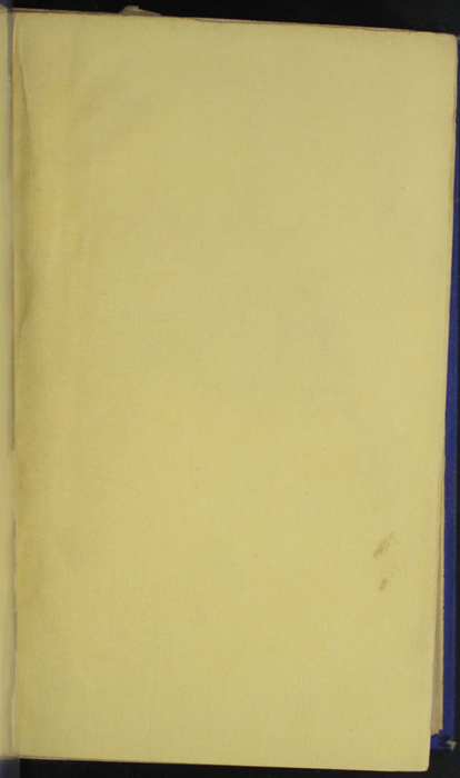 Recto of First Front Flyleaf of the 1852 T. Nelson & Sons Reprint, Version 2