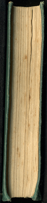 """Fore Edge of the [1884] Frederick Warne & Co. """"Star Series"""" Reprint"""