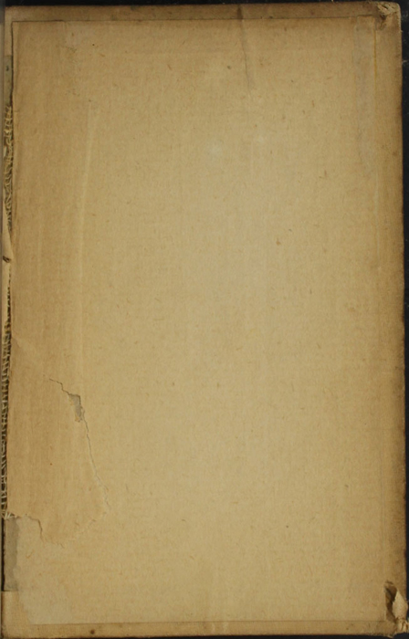 Back Pastedown of the [1900] W.B. Conkey Reprint