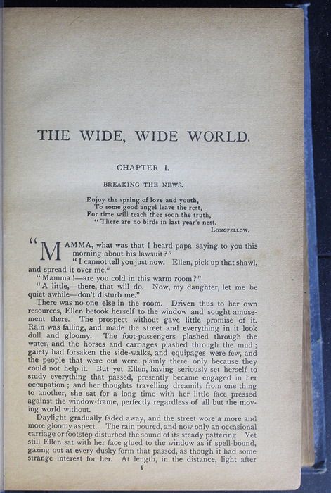 "First Page of Text of the [1910] Collins' Clear-Type Press ""The Challenge Series"" Reprint"