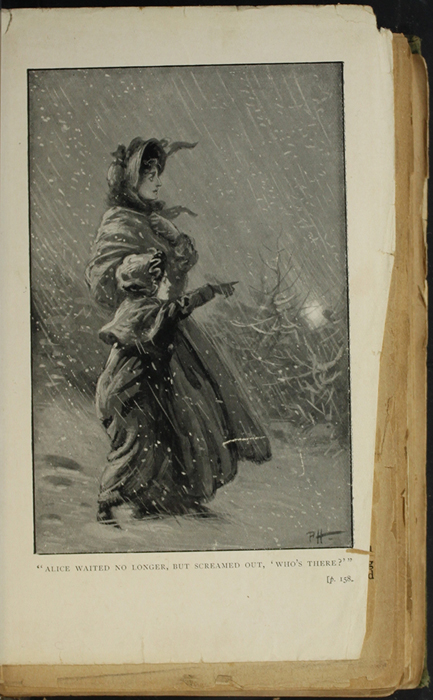 Illustration on Page 158a of the [1896] S. W. Partridge & Co. Reprint Depicting the Snow Storm